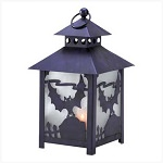 Spooky Bat Tealight Lantern
