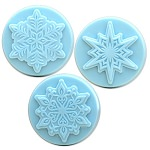 3 Snowflakes Soap Mold