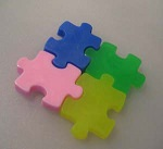 Puzzle Piece Soap Mold