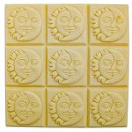 Sun and Moon Tray Soap Mold