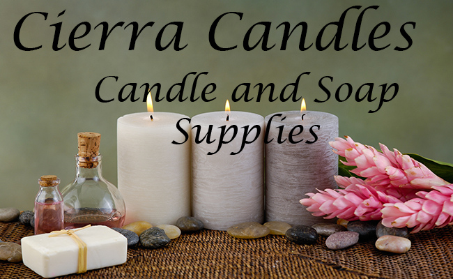 Cierra Candle and Soap Supplies!