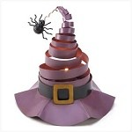 Wacky Witch Hat Tealight Candle Holder