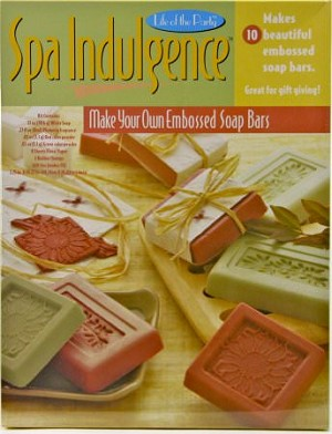 Spa Indulgence Embossed Soap Bar Kit