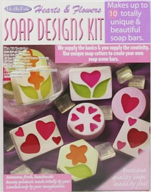 Hearts and Flowers Soap Designs Kit