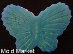 Cut Glass Butterfly Soap Mold