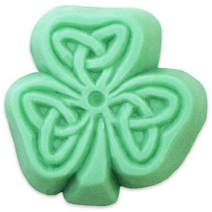 Celtic Clover Soap Mold