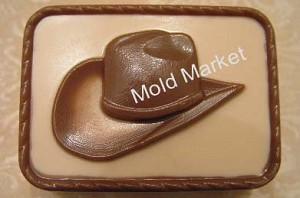 Cowboy Hat Soap Mold