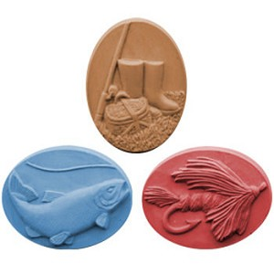 Gone Fishing Soap Mold
