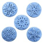 Guest Sized Snowflake Soap Mold