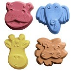 Kids Zoo Critters Soap Mold