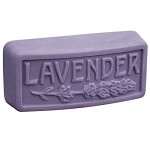 Rounded Guest Size Lavender Bar Soap Mold