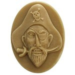 Pirate soap mold