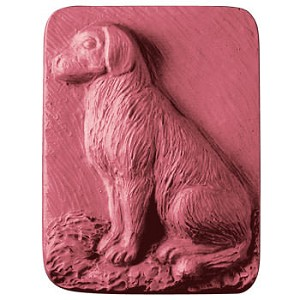 Sitting Dog soap mold