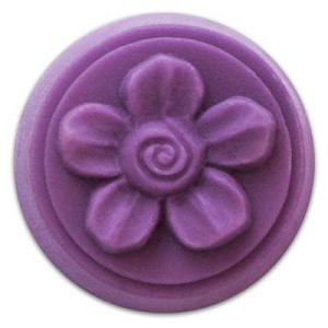 Spiral Flower Wax Melt Mold