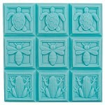 Art Deco Fauna Tray Soap Mold