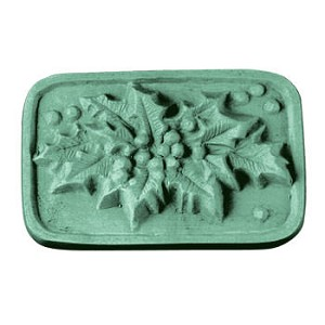 Holly Leaf Soap Mold