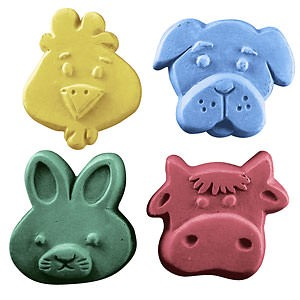 More Kids Critters - 4 in 1 Soap Mold