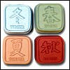 Feng Shui Four Seasons soap mold