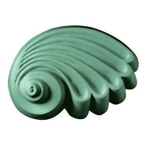 Seashell soap mold