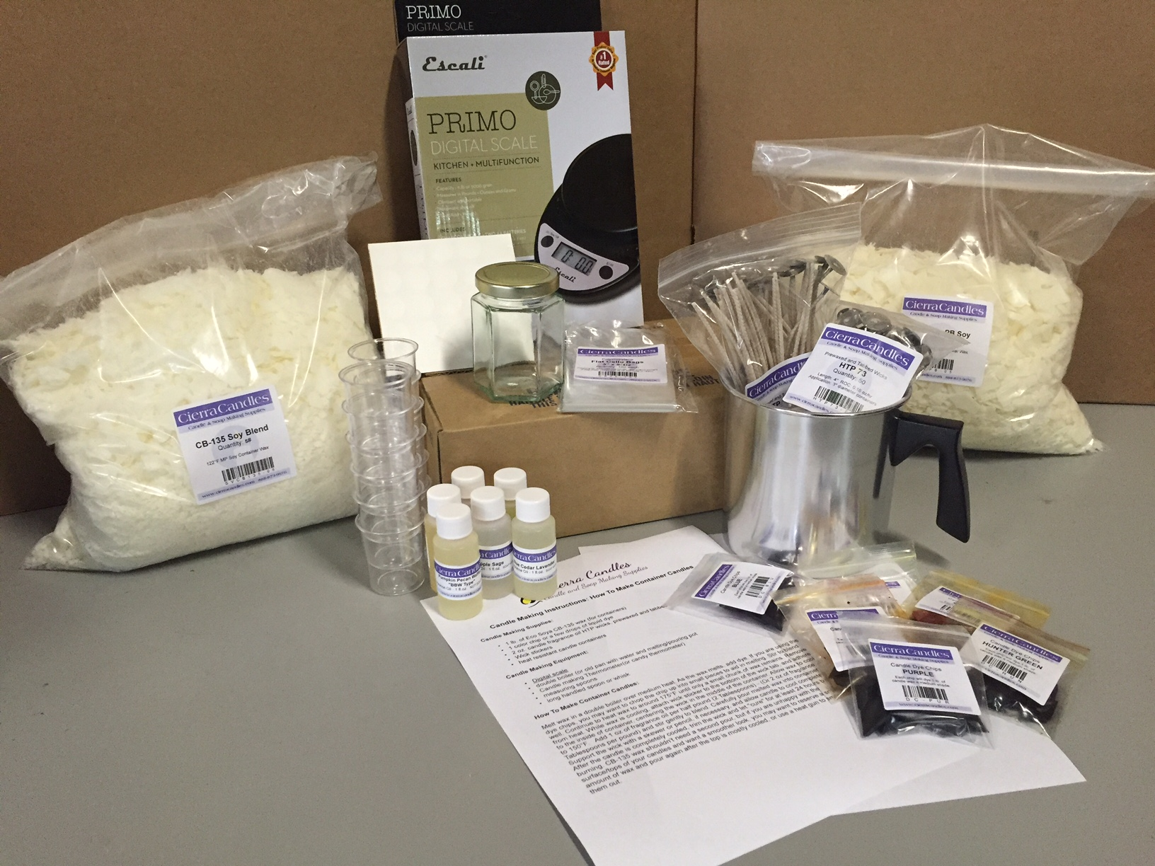 Combination Candle Making Kit - Candle Business Starter Kit