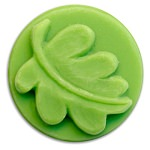 Leaf Wax Melt Mold