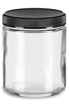 9 oz Clear Straight Sided Jars