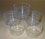 Clear Tealight Container Cups - RESTOCK EXPECTED THE WEEK OF NOVEMBER 30
