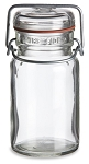 9 oz Vintage Style Glass Mason Jar with Swing Top Lid
