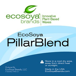 Ecosoya Pillar and Votive Natural Soy Wax