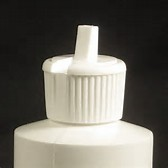 White Dispensing Cap - 24-410