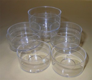 Clear Tealight Container Cups
